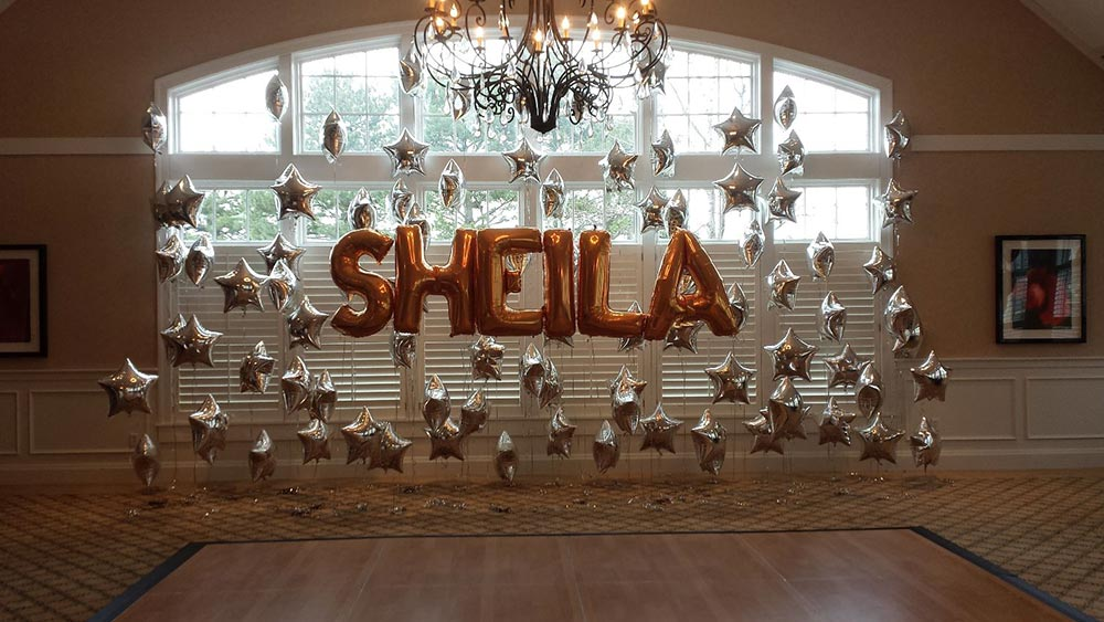 Sheila star wall