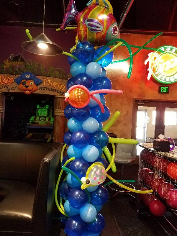 Ocean balloon column